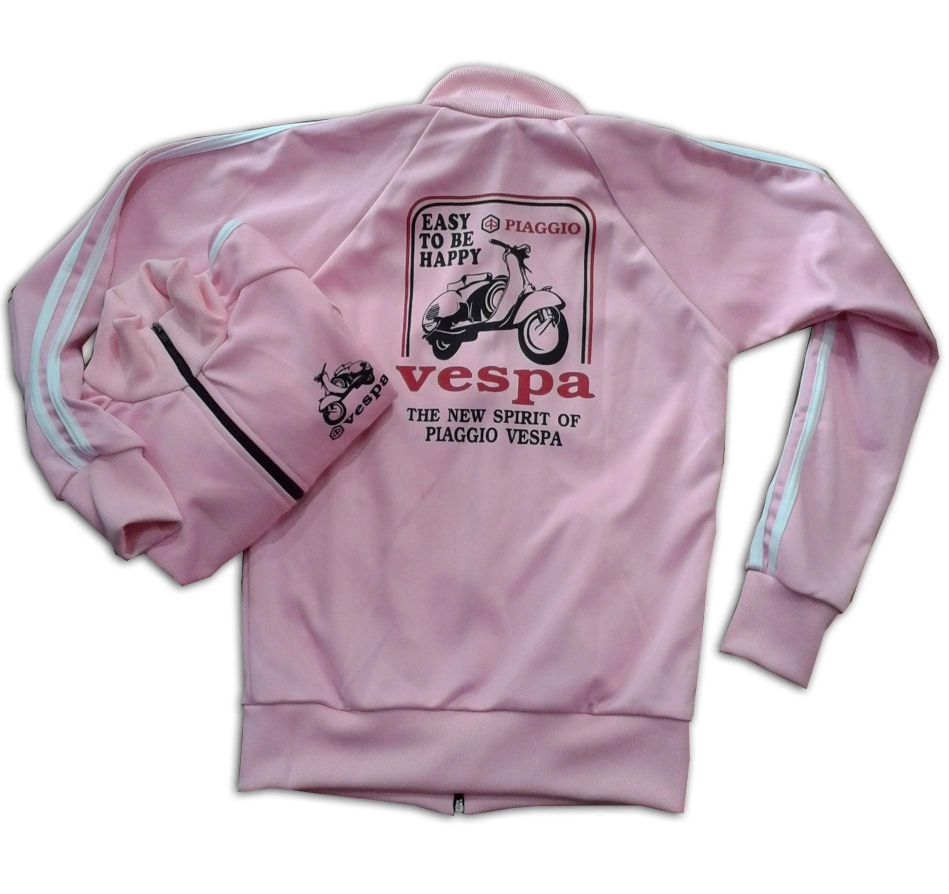 a55a9a93 Sudadera vespa rosa claro dibujo negro | Tucuman Aventura