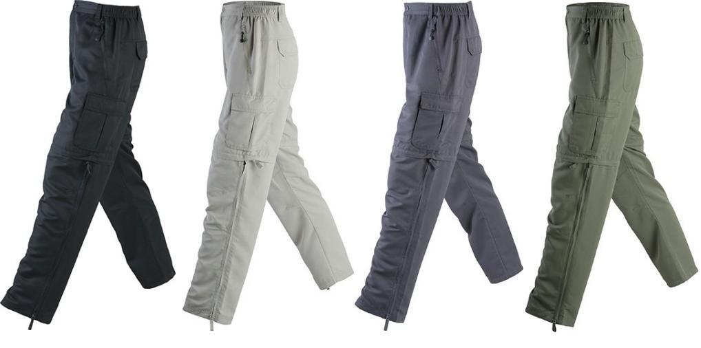 mejor selección de 2019 Donde comprar estilo exquisito Pantalones desmontables trekking de aventura para hombre