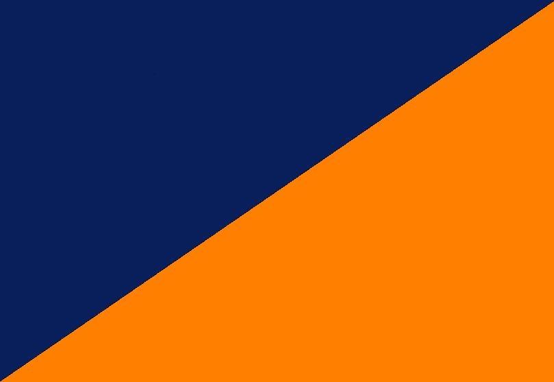 Azul marino-Naranja
